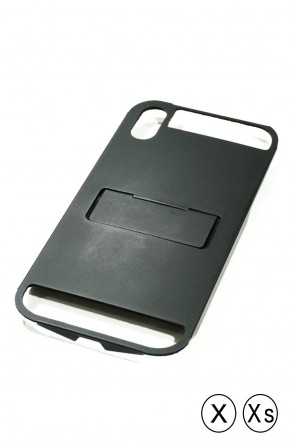 CLAUSTRUM Classic iPhoneXs and X Case FLAP X (S) - BLACK MATTE