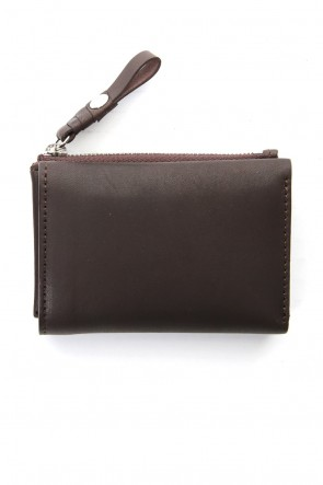 cornelian taurus Classic connect wallet mini - Glove Steer Leather Brown
