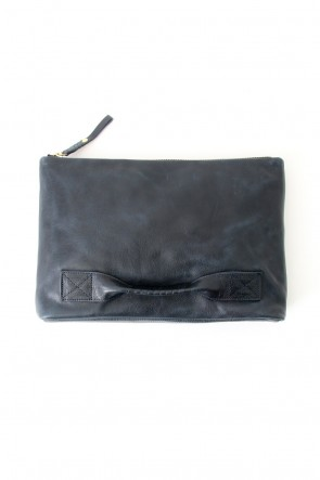 cornelian taurus Classic 4 handle file - Clutch bag - Navy