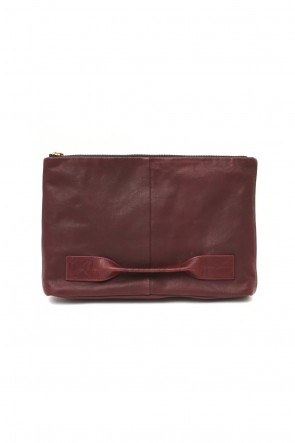 cornelian taurus Classic 4 handle file - Clutch bag - Bordeaux