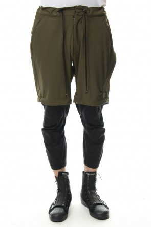CIVILIZED 19SS 3/4 SURVIVAL LAYERED PANTS Khaki - CS-1815