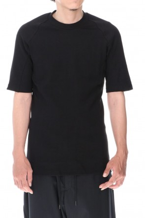 DEVOA 20-21AW Short sleeve Medium soft jersey Black
