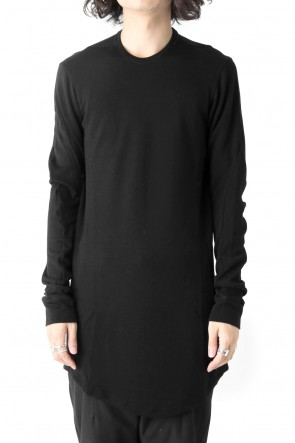 Long Sleeve Wool & Rayon
