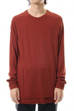 DEVOA 19-20AW Long sleeve indian cotton jersey (SUVIN)