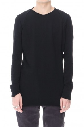 DEVOA 20-21AW Long sleeve medium jersey Black