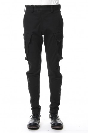 DEVOA 19SS Cargo Slim Pants Outlast Denim