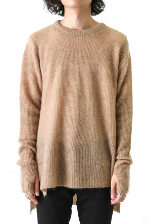 DIET BUTCHER SLIM SKIN 17-18AW Mohair Long Knit Pullover