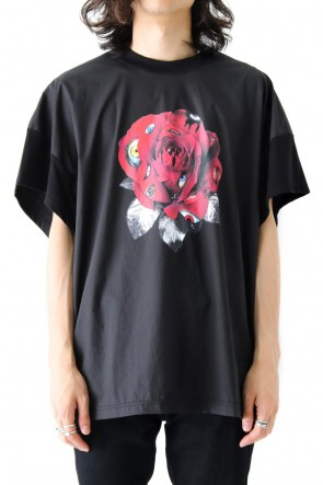 DIET BUTCHER SLIM SKIN 17-18AW Roseyes Short Sleeve T-Shirt