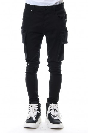 DIET BUTCHER SLIM SKIN 18-19AW Loose Fit Cargo Pants