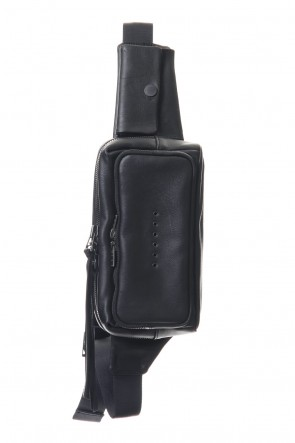 DEVOA 20SS Waist bag Kudu leather Black