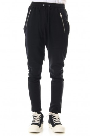 DIET BUTCHER SLIM SKIN 19-20AW Jogger pants Black