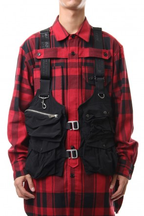 DIET BUTCHER SLIM SKIN 19-20AW Pockets vest