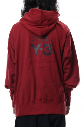 Y-3 18-19AW M Stacked Logo Hoodie