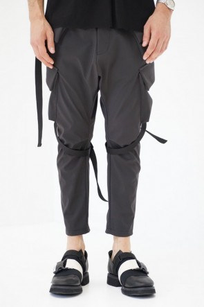 The Viridi-anne 19SS Schoeller Side pocket cropped pants