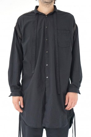The Viridi-anne 19SS Gatherd long shirt