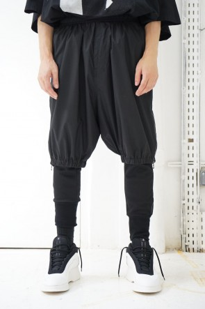 NILøS 19SS SIDE GUSSET ZIP SHORT PANTS