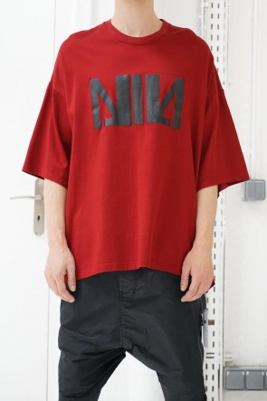 NILøS 19SS NIL BIG T-SHIRT Blood