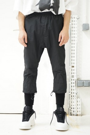 NILøS 19SS SPINDLE RAYERED HEM TRACK PANTS