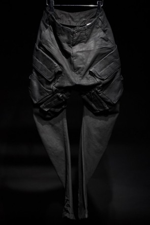 JULIUS 16-17AW 16AW Gas Mask Cargo Pants