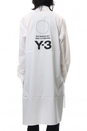 Y-3 18-19AW U Stacked Logo Long Shirt