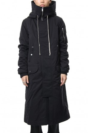DRKSHDW 18-19AW HOODED LONG PARKA