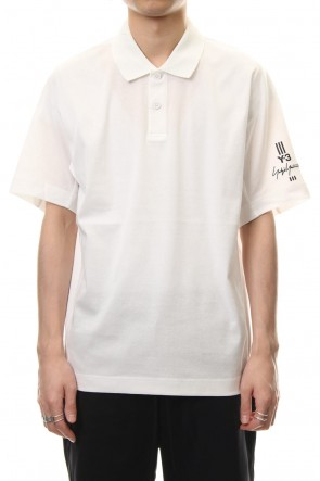 Y-3 19SS Y-3 New Classic Polo Shirt White