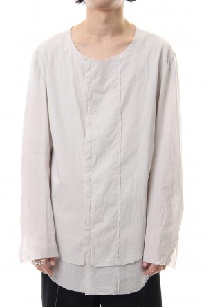 ASKyy 19SS Atelier shirts - Light Grey