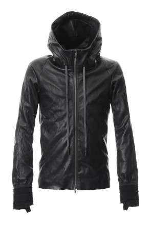 DEVOA 19SS Hooded jacket  Stretch deer leather
