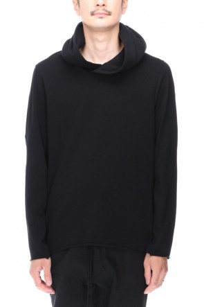 DEVOA 20-21AW Hoodie medium jersey Black