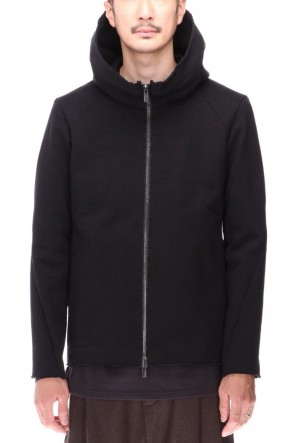 DEVOA 20-21AW Hooded jacket Heavy jersey