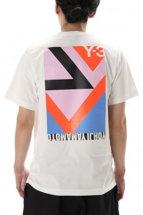 Y-3 20SS SWM MULTI BLOCK GRAPHIC SS TEE