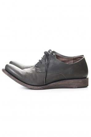 DEVOA 20SS Classic shoes horse leather - Charcoal
