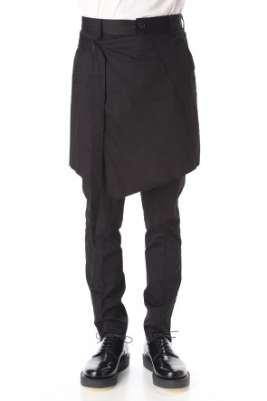 ASKyy 20SS Atelier Trousers - Black