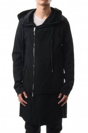 ASKyy 20SS Layered Hoodie(long) - Black
