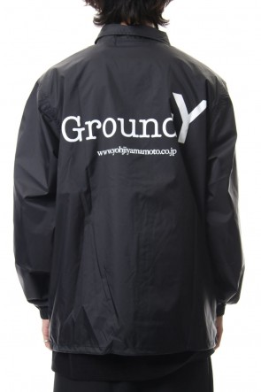Ground Y 19-20AW Logo print coach jacket