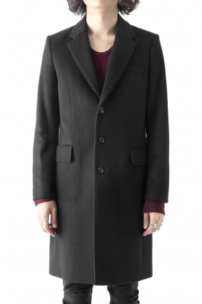 SUPER 120's BEAVER MELTON COAT