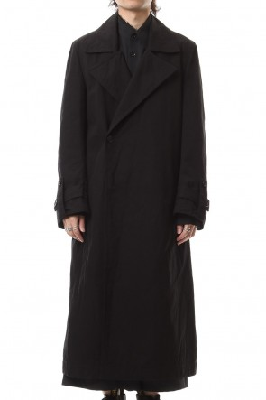 Ground Y 19-20AW Double coat Black
