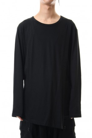 Ground Y19-20AWFront turn back Long sleeve cut & sew