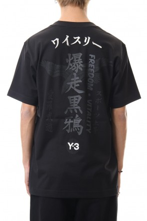 Y-3 20SS CRFT GRAPHIC SS TEE