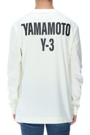 Y-3 20-21AW CH2 GFX ロングスリーブ Tシャツ