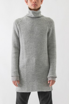 Turtle Neck Over Sized Knit