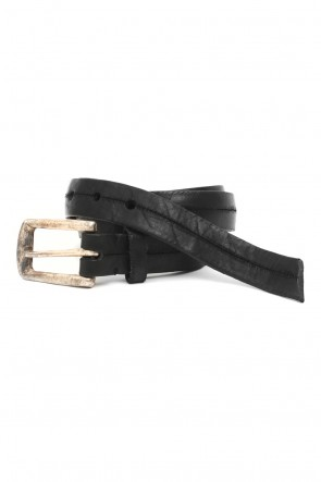 Leather Vintage Buckle Belt