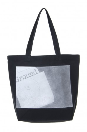 Ground Y 18-19AW EVA Ayanami Graphic Tote