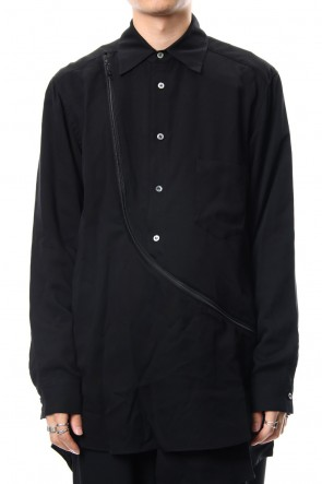 Ground Y 18-19AW Zipper Shirt