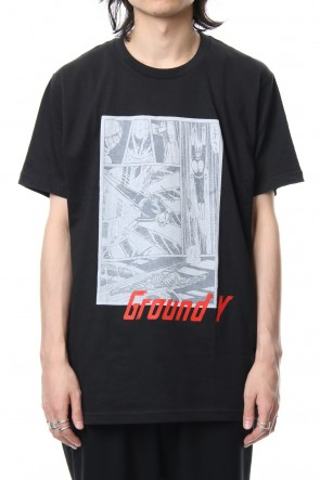 Ground Y 18-19AW Craft Print Kamen Rider ver.2 S/S TEE