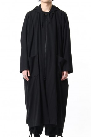 Ground Y 19SS Open front big dress with hood