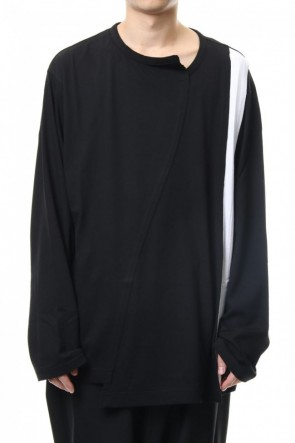 Ground Y19-20AWStraight vertical line Long sleeve