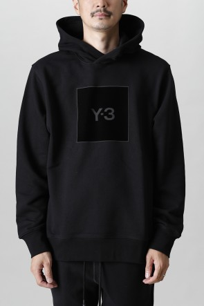 Y-321-22AWスクエア ロゴ フーディー