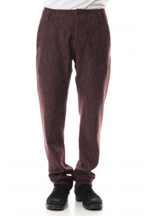 Hannibal 19-20AW Trousers heinke Camin Red