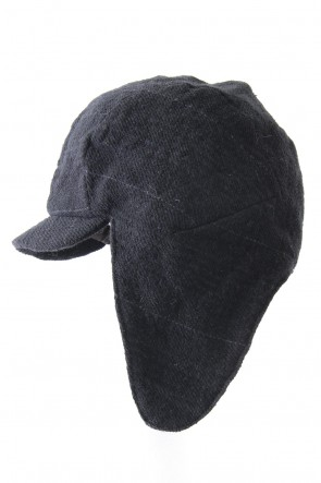 DEVOA 17-18AW Flying Cap Navy Black